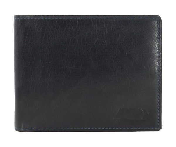 Annodyne Men's BLACK NIKIAS Genuine Leather Wallet_A540WM $ R_A540WM_BLK
