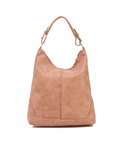 Fiona Trends Tan PU Shoulder Bag,6605_TAN