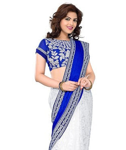 Velvet Saree with Blouse
