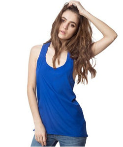 American Swan Royal Blue Tank Top