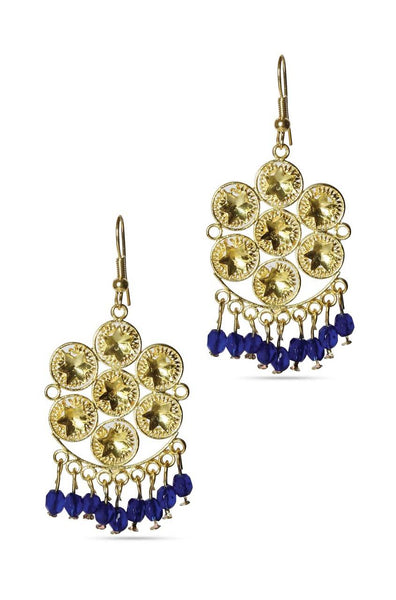 Gold Glaze Earrings - JODDEAR9272