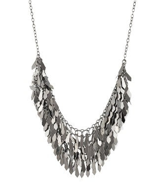 aradhya NA Silver Plated Silver, Metal Necklace