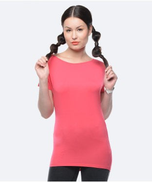 United Colors Of Benetton Hot Pink S/S Top