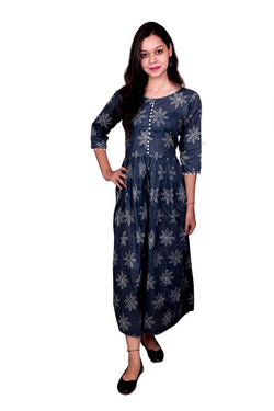 Libas Closet Cotton Dress/Long Dress/Maxi Dress/Long Kurti $ Libas-054