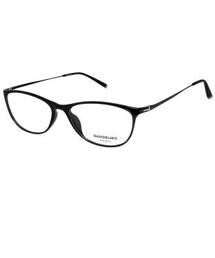 David Blake Black Cateye Full Rim EyeFrame