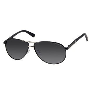 David Blake Grey Aviator Polarised Sunglass