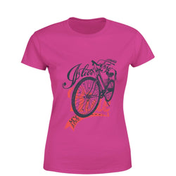 Partum Corde Premium Women's Modern Fit Round Neck T shirt LOVE TO RIDE $ LOVE TO RIDE2912