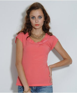 Elle Candy Pink S/S Top