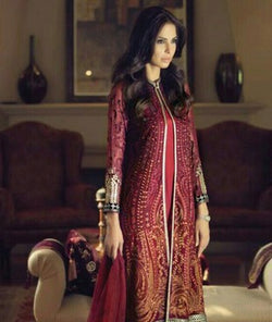 Mariab Suit with Dupatta