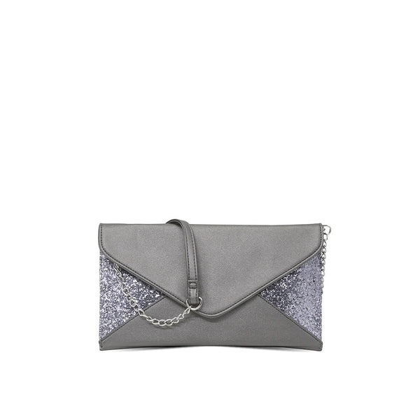 London Rag Womens GreySling Bag-BG5234_GREY