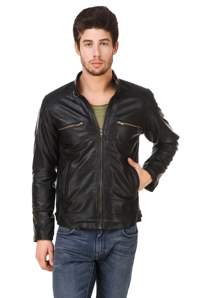 Smerize Men's Wolverine Faux Leather Jacket $ 21SM