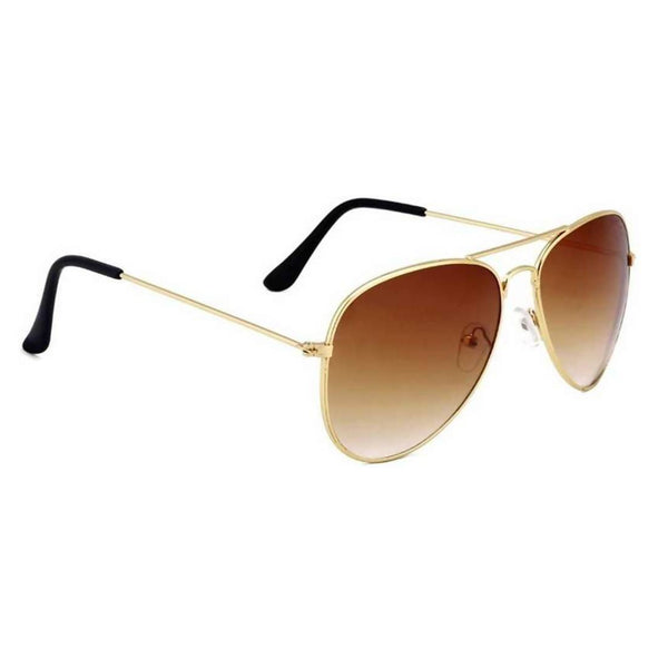 Benour Men's Brown Aviator Sunglasses $ BENAV047