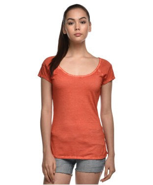 Guess Orange S/S Top