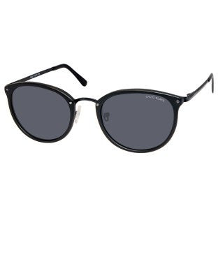 David Blake Grey Round Polarised, UV Protected Sunglass