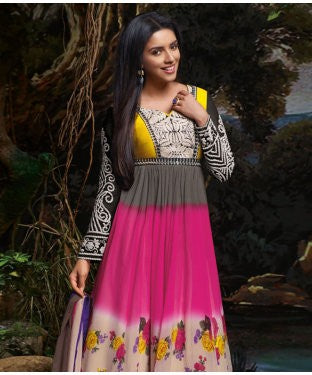 ADAA Unstitched Suit with Dupatta