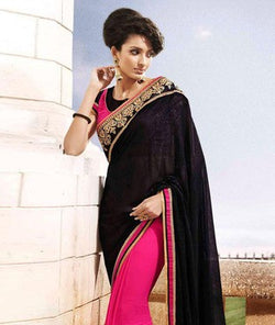 Art Dupion Silk Saree with Blouse