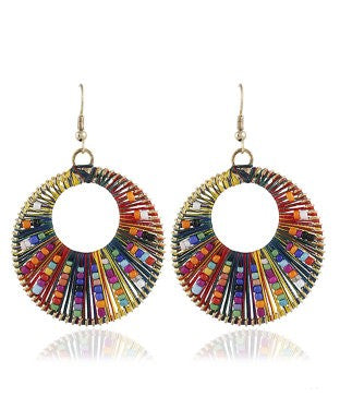 Aradhya Beads Alloy Dangle Earring