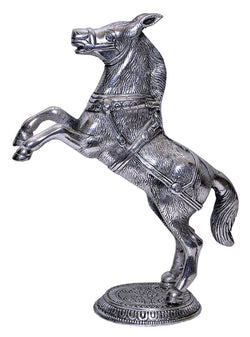 Silver Plated Horse Statue Exclusive Gift for Diwali Gift, Wedding Gift, Birthday Gift and Corporate Gift Item $ GSI-152