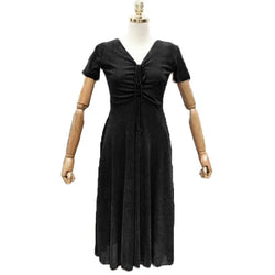 Fashion Tiara Black One Piece Dress with Lining Fits For M/L/XL $ FTD29