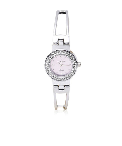 Logues Purple/Silver/Silver Stainless Steel/Stainless Steel WOMEN CASUALWATCH $ 100000907054