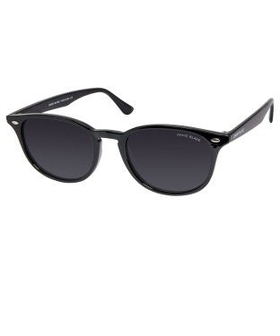 David Blake Grey Round Polarized, UV Protected Sunglass
