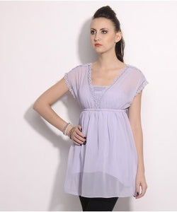 Elle Lavender Tunic With Inner