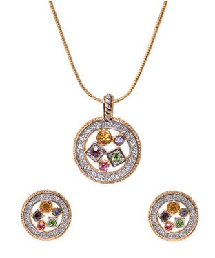 BAUBLE BURST Chain with Pendant and Earring