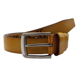 Baluchi The Beige Designer 100% Genuine Leather Belt $ BLC_LMT_101