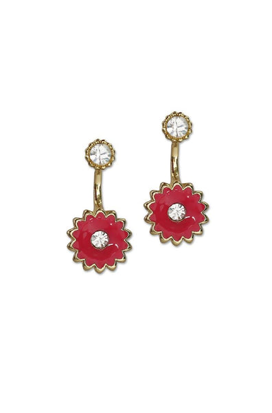 Floral Candy Earrings - JIAYEAR9823