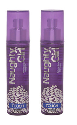 Naughty Girl TOUCH Perfume Spray for Women- Pack of 2 (60ml each)