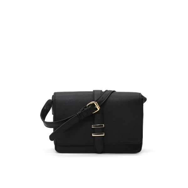 London Rag Womens Black Sling Bag-BG5117_BLACK