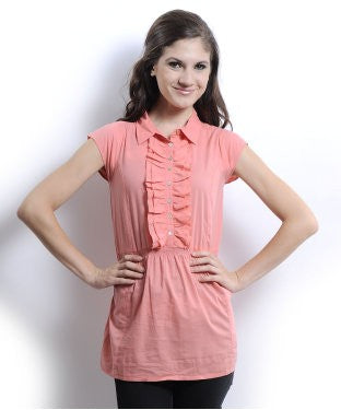 United Colors Of Benetton Pink Tunic