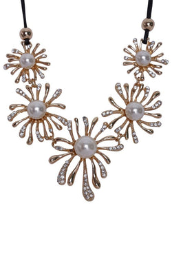 Pearl Cracker Necklace - JIGFNEC9834