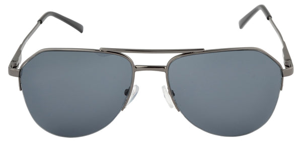 Lawman UV Protected Grey Unisex Sunglasses-LawmanPg3 Sunglasses LM4505 C1 (Grey)