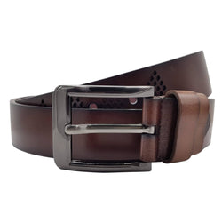 Baluchi The Brown Designer 100% Genuine Leather Belt $ BLC_LMBR_104