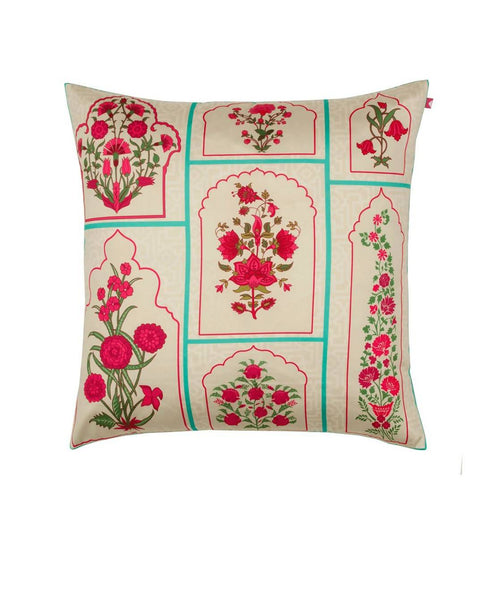 Royal Garden Poly Taf-Silk Cushion Cover AW_100000720894