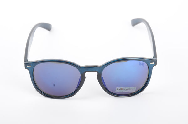 Lawman UV Protected Wayferer Blue Unisex Sunglasses-LawmanPg3 Sunglasses LA2911 C5
