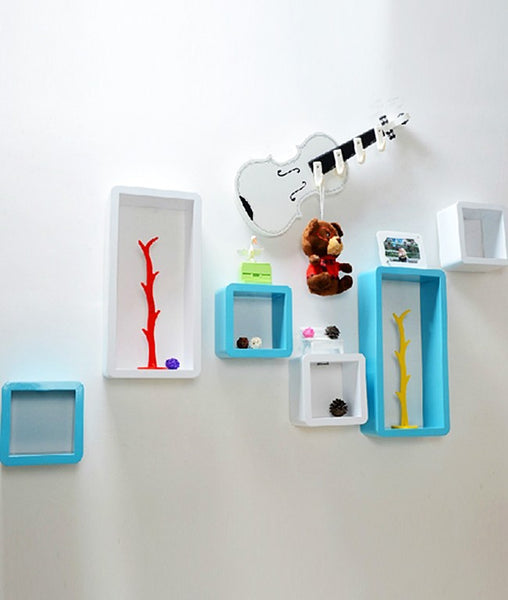 THE NEW LOOK Wall Shelves (Set of 6)-100000717238