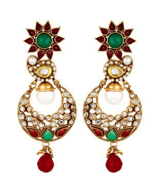 Aradhya Metal Earring Set