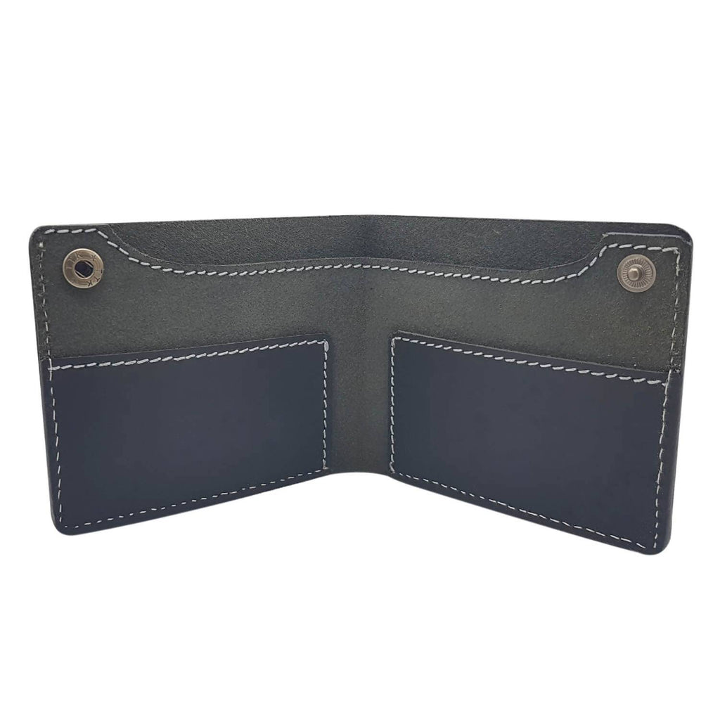 6b4dda942d4 Baluchi s Black 100% Genuine Leather Handcrafted Casual Wallet for Men –  Fashion And You