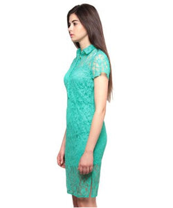 XNY Sea Green SHORT DRESS