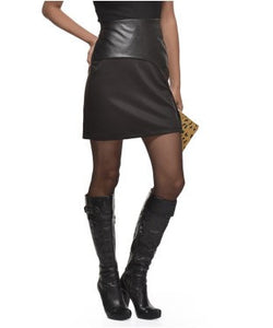 Glam A Gal Black Short Skirt