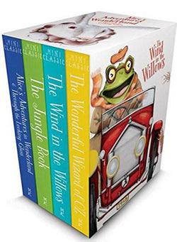 Mini Classics Set: Wind in the Willows, the Jungle Book, the Wonderful Wizard of Oz, Alice's