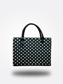 Strutt Black And White Polka Dot Tote bag $ SMT 159