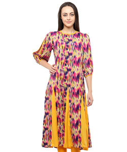 MULTI COLOR GEORGETTE HOMA KURTIS
