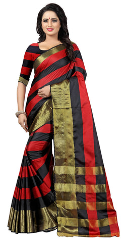 YOYO Fashion Latest Fancy Ora  Multi  Saree $SARI_2585