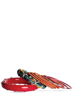 BAUBLE BURST Party Red Bangles Stack-2.6