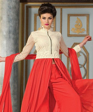 Georgette Suit with Dupatta and Lining