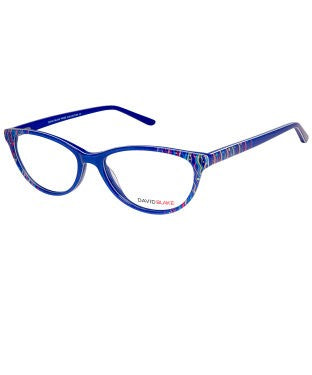 David Blake Violet Cateye Full Rim EyeFrame