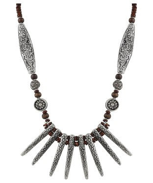 Aradhya Beads Metal Necklace